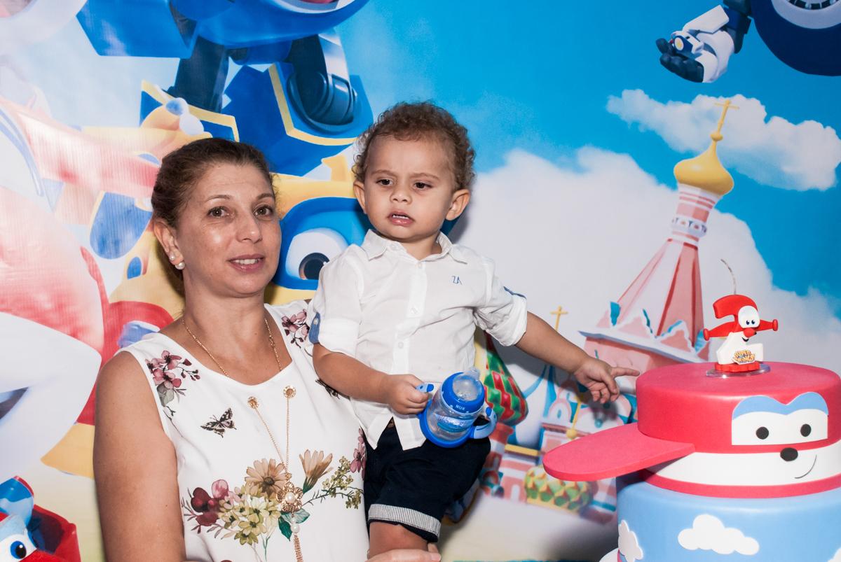 colinho da vovó no Condominio, Morumbi, São Paulo, tema da festa super wings