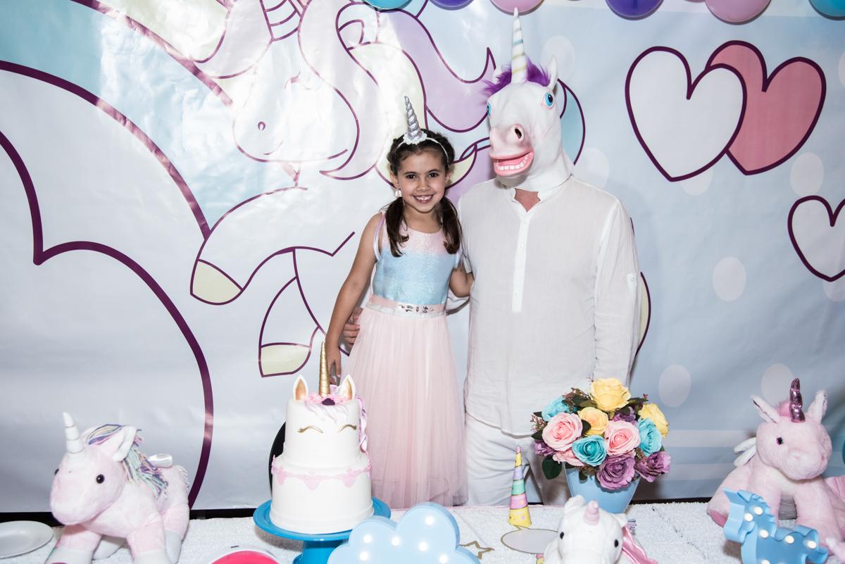 final da festa no Buffet Planeta Kids, Lapa, São Paulo, aniversario de Sarah 8 anos, tema da festa Unicórnio