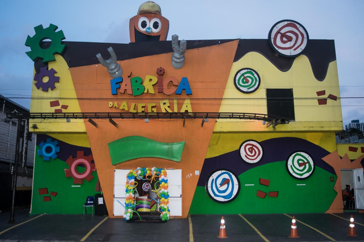 Buffet Fábrica da Alegria Morumbi São Paulo, aniversário de Gabriel 2 ano tema da festa Ursinho Pooh