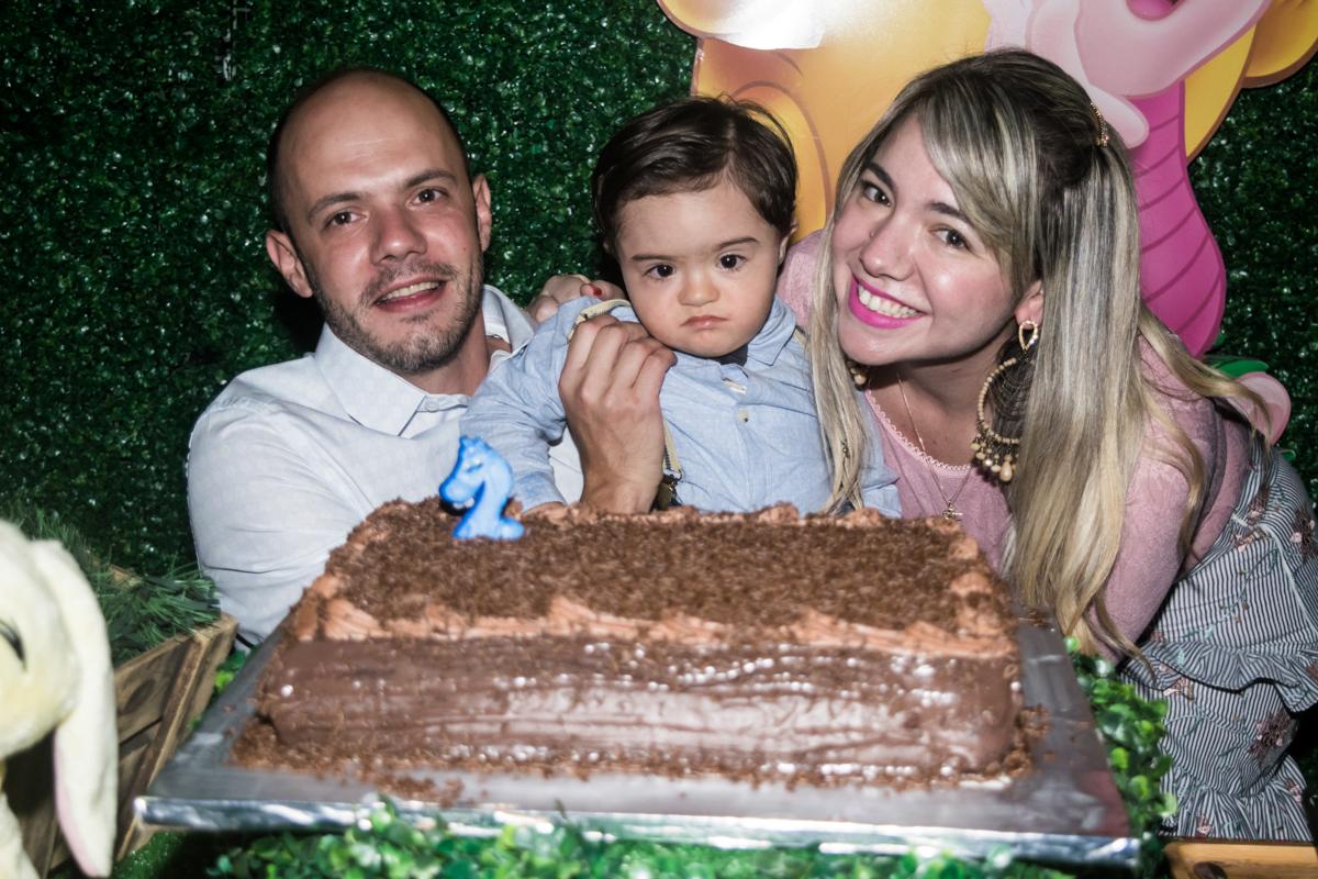 foto na mesa do bolo