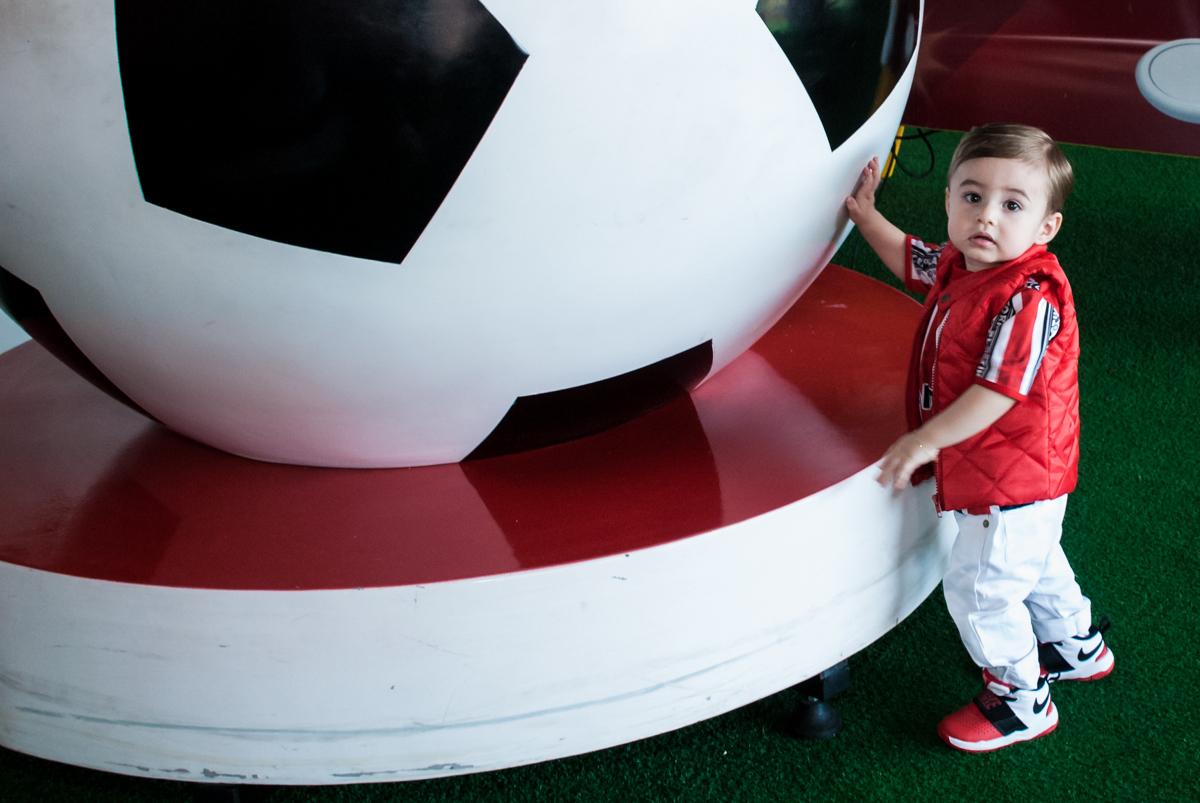 foto na bola gigante