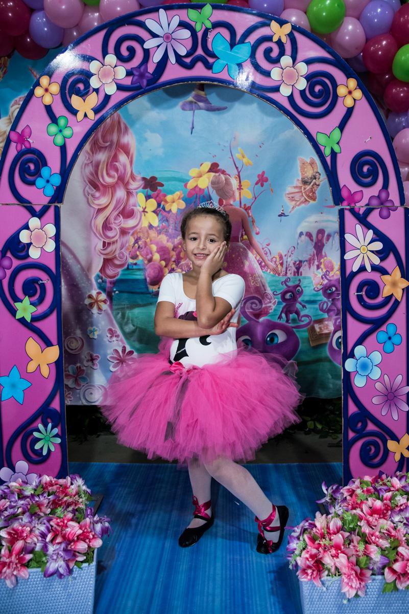 princesa linda na sessão de fotos