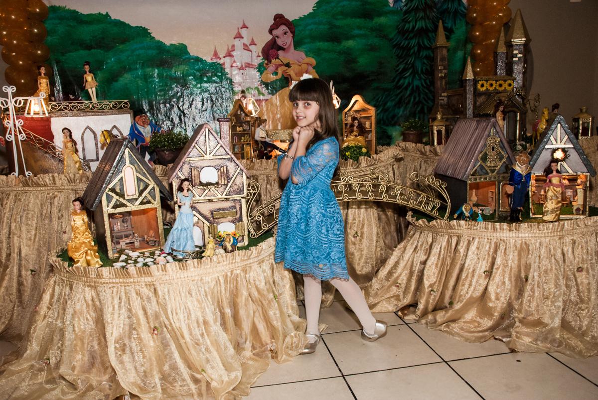 carinha de princesa para ser fotografada