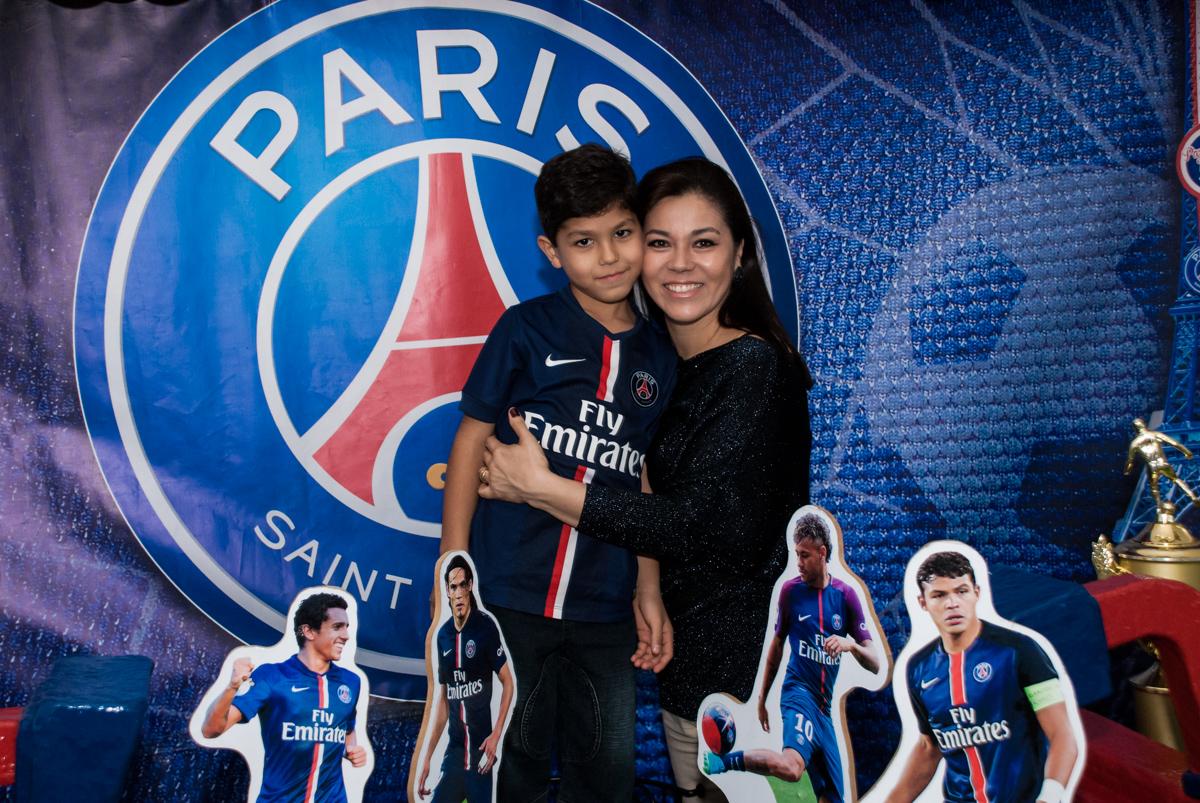 fotografia mãe e filho