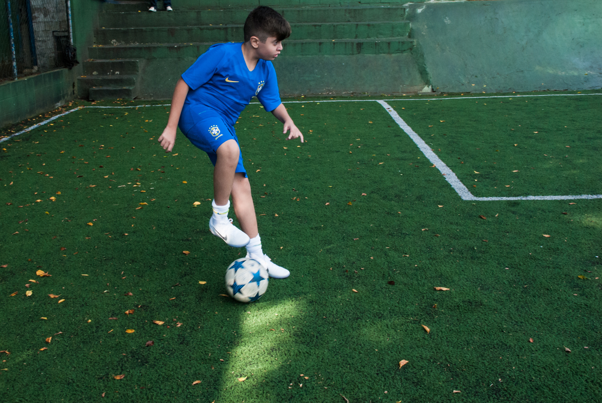 iniciando o futebol