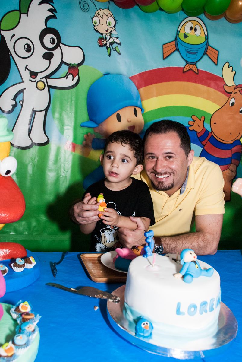 foto com o papai