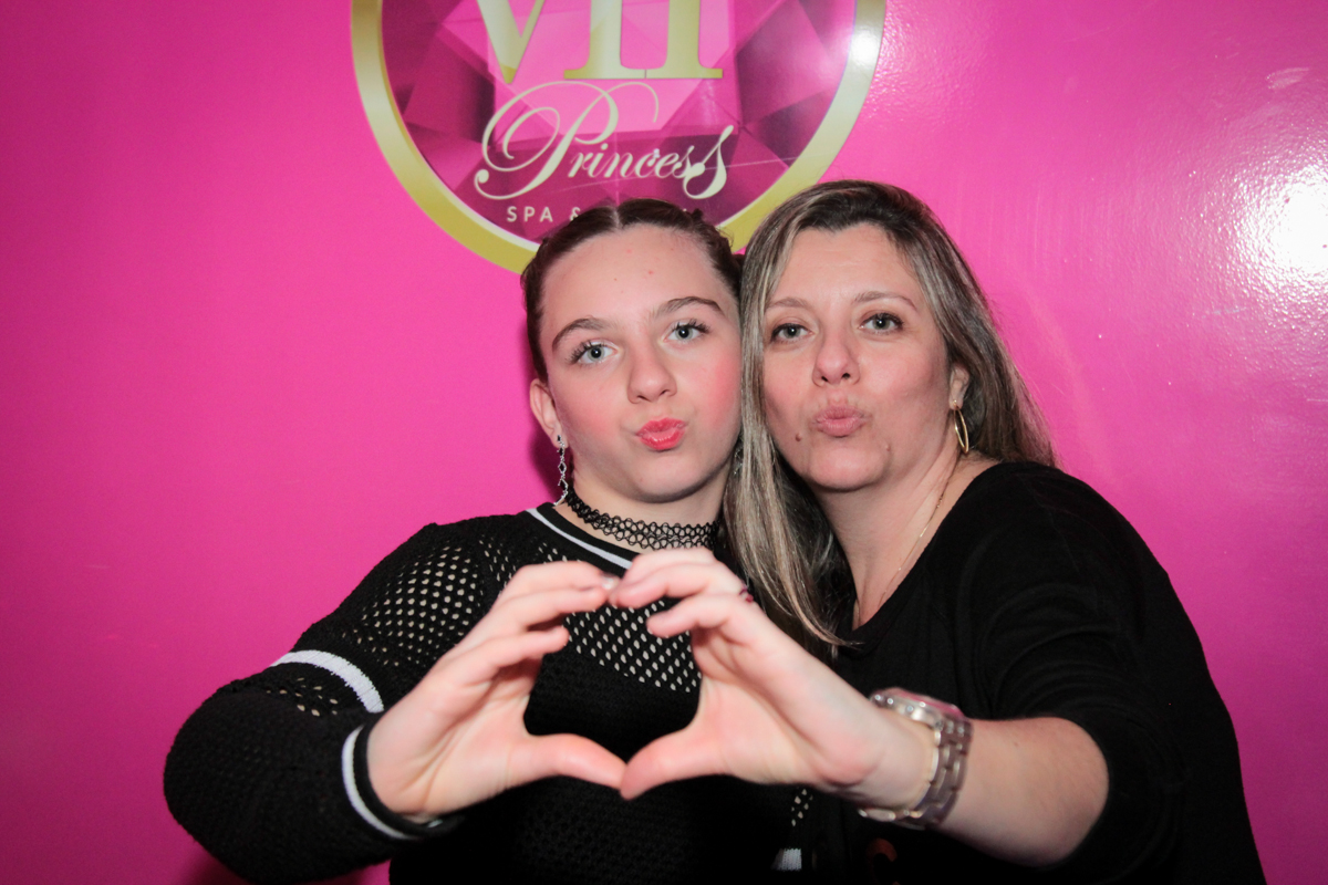 foto com biquinho com sua mãe