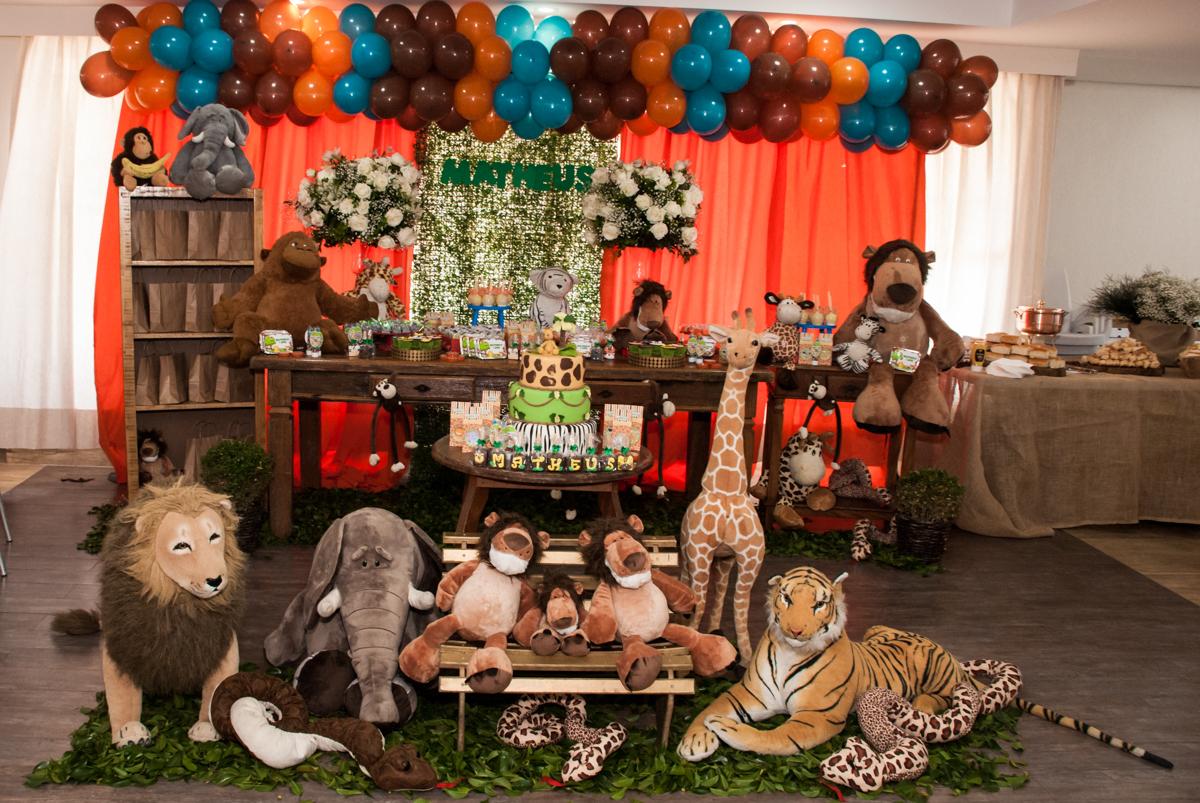 mesa temática selva