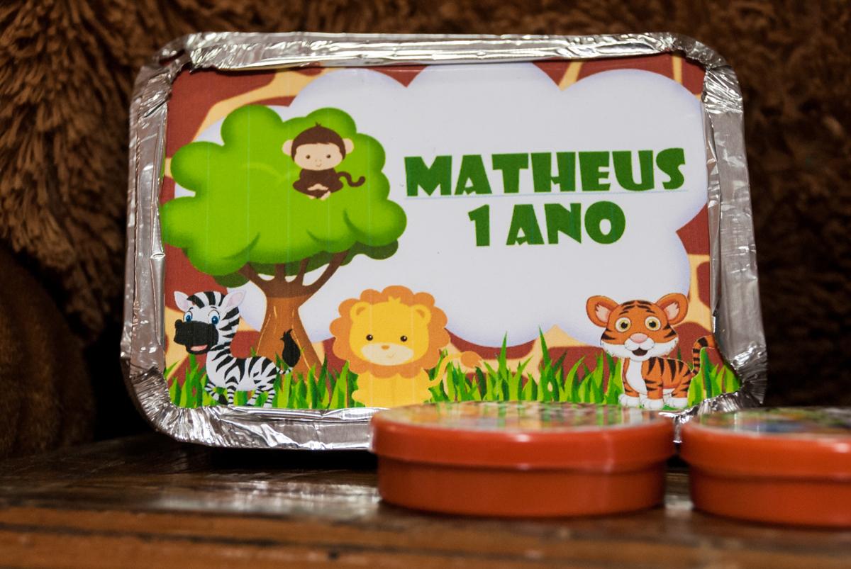 lembrancinhas para os convidados da festa do Matheus