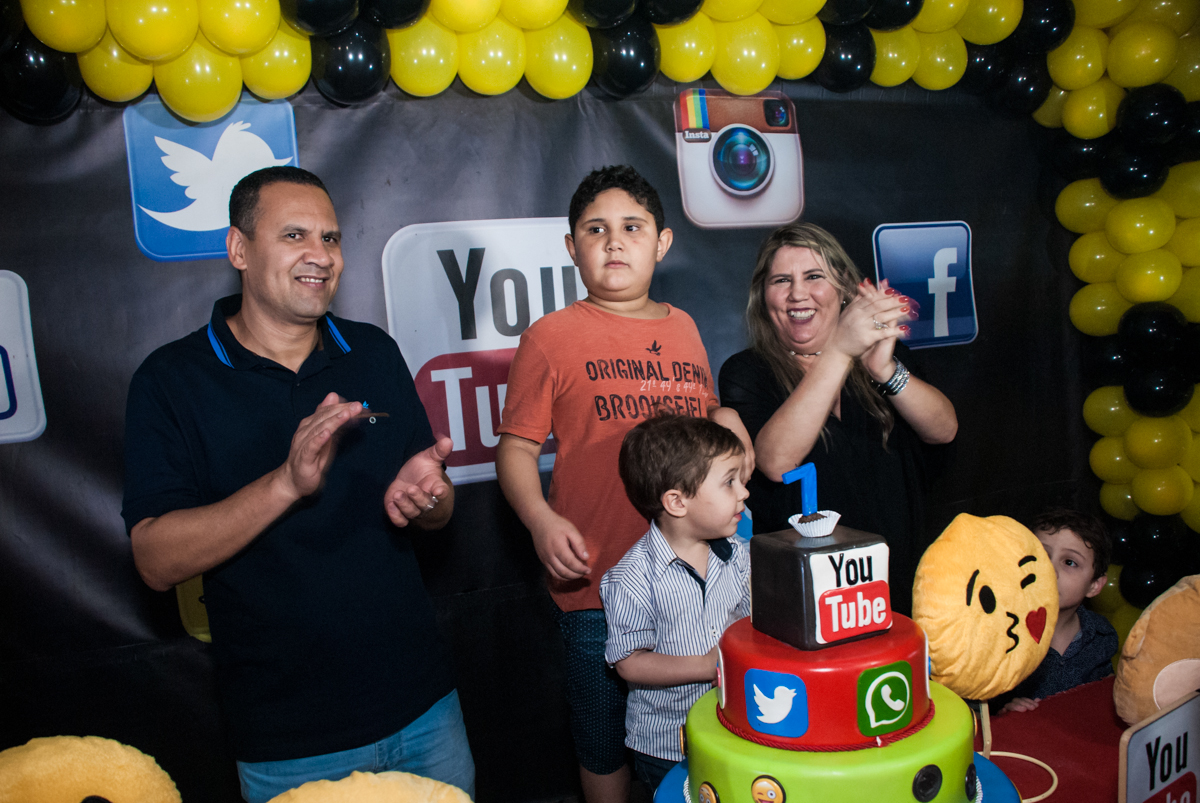 Final da festa do Felipe com muitas alegrias