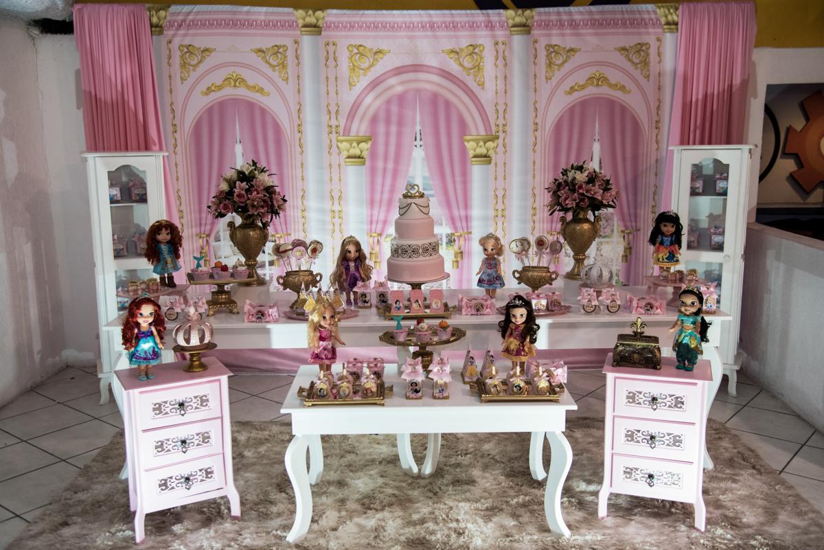 mesa temática princesas