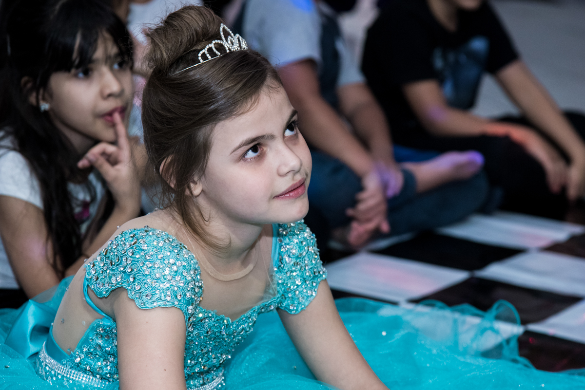atenção ao show das princesas