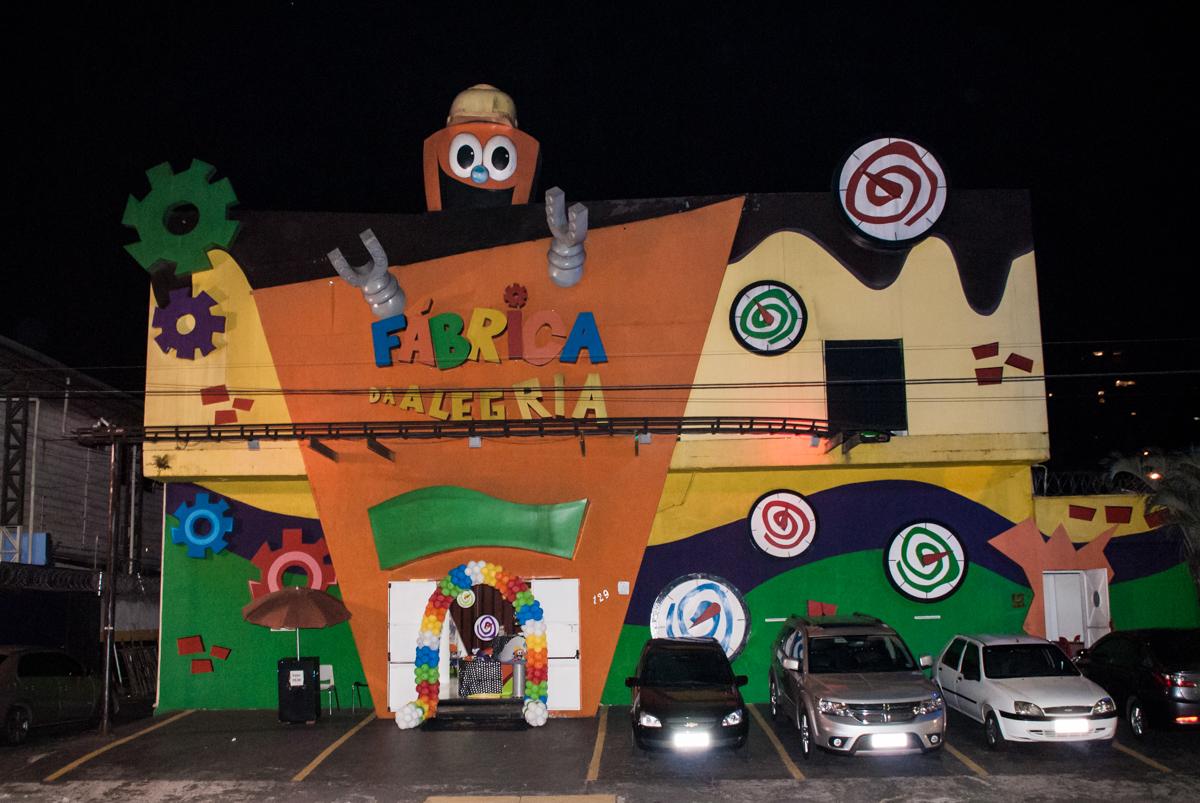 Aniversário de Bruno 1 ano festa realizada no Buffet Fábrica da Alegria, Osasco, São Paulo, tema da festa Mickey