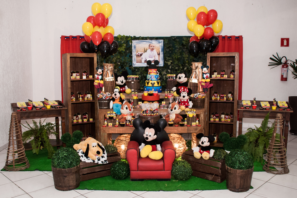 mesa temática do mickey