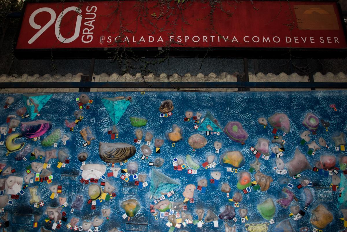 Escalada Esportiva  90 Graus, festa de aniversário de Jonathan 8 anos