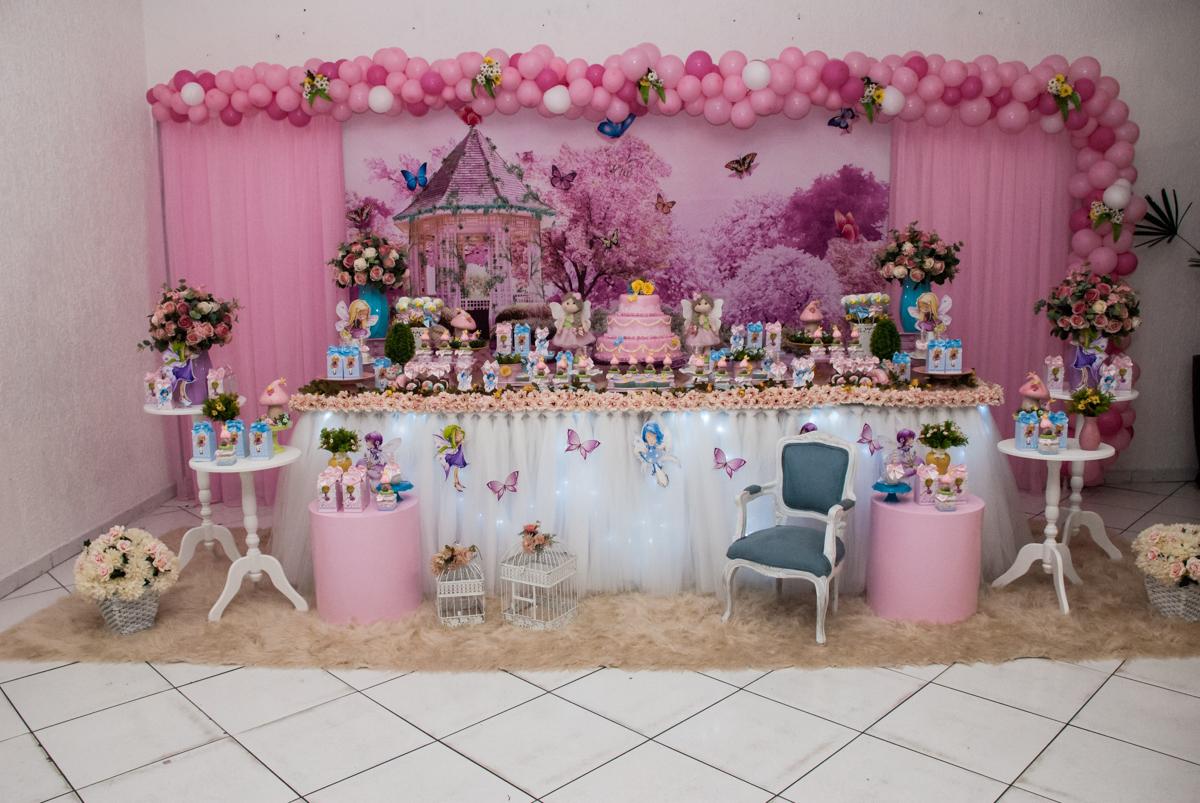 mesa temática bonecas