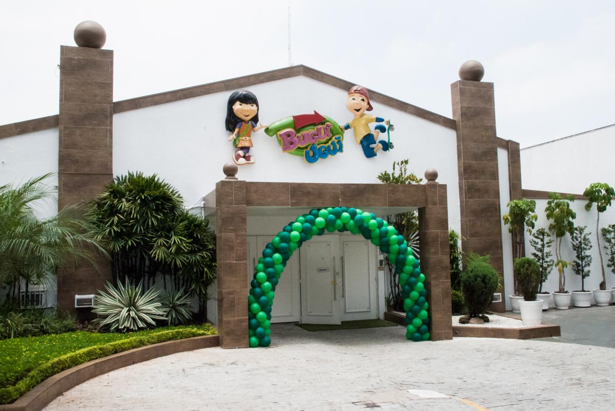 Buffet Bugui Ugui, Vila Santa Catarina, São Paulo, aniversário de Gabriel 3 anos, tema da festa Jurassick Parck