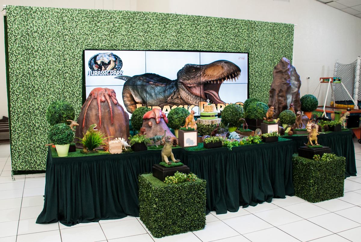 mesa temática Jurassick Parck
