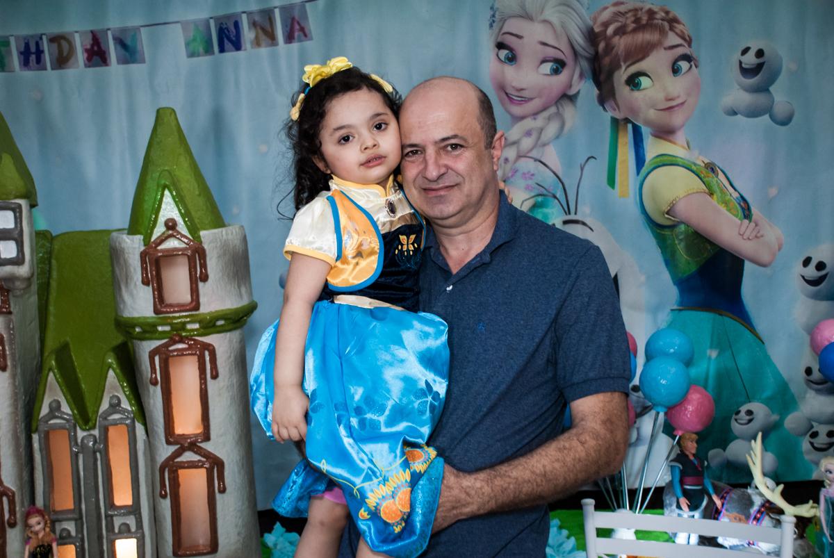 foto pai e filha