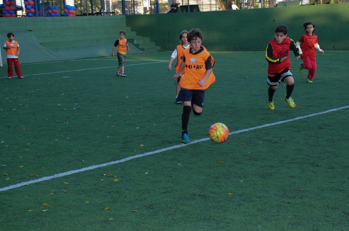 Fotografia de jogo de futebol no High Soccer
