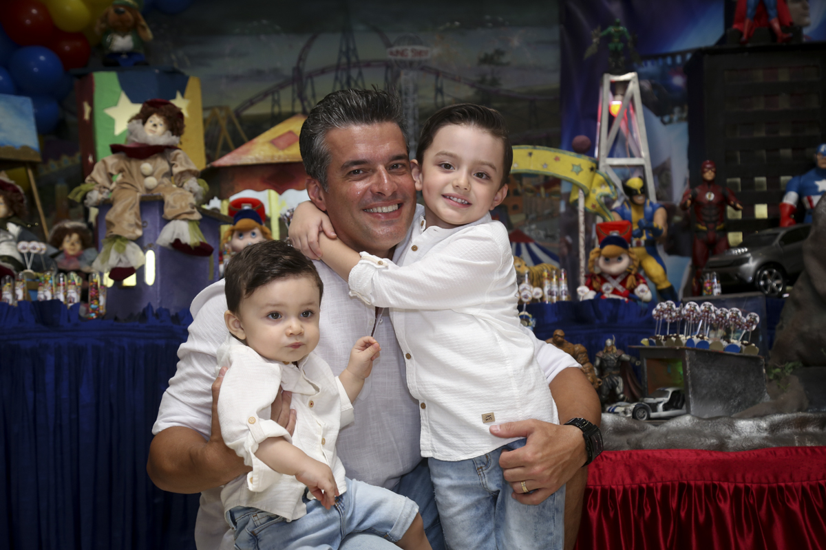 foto pai e filhos