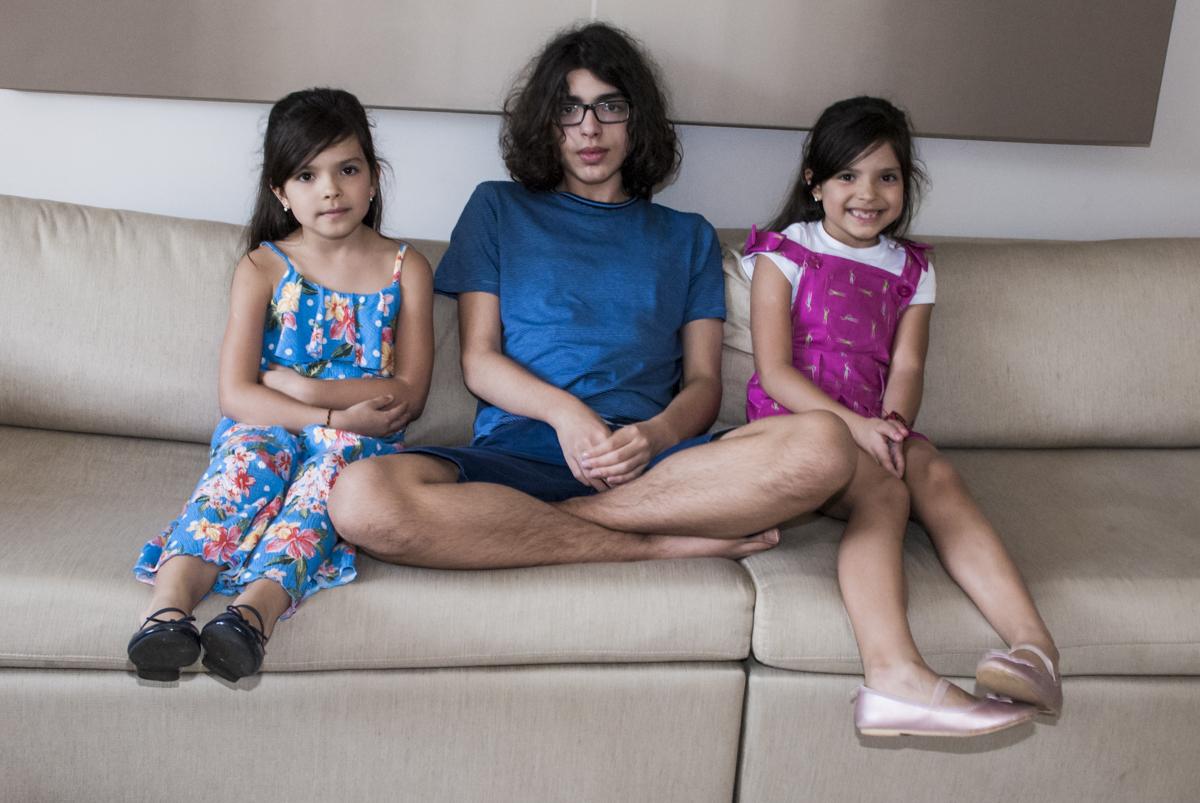foto dos três irmãos