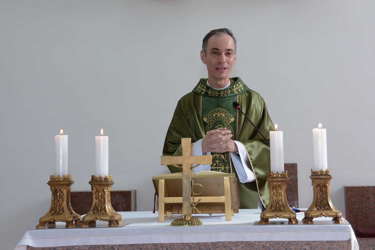 Cerimônia,Igreja Santa Gema Galgani, Osasco-SP