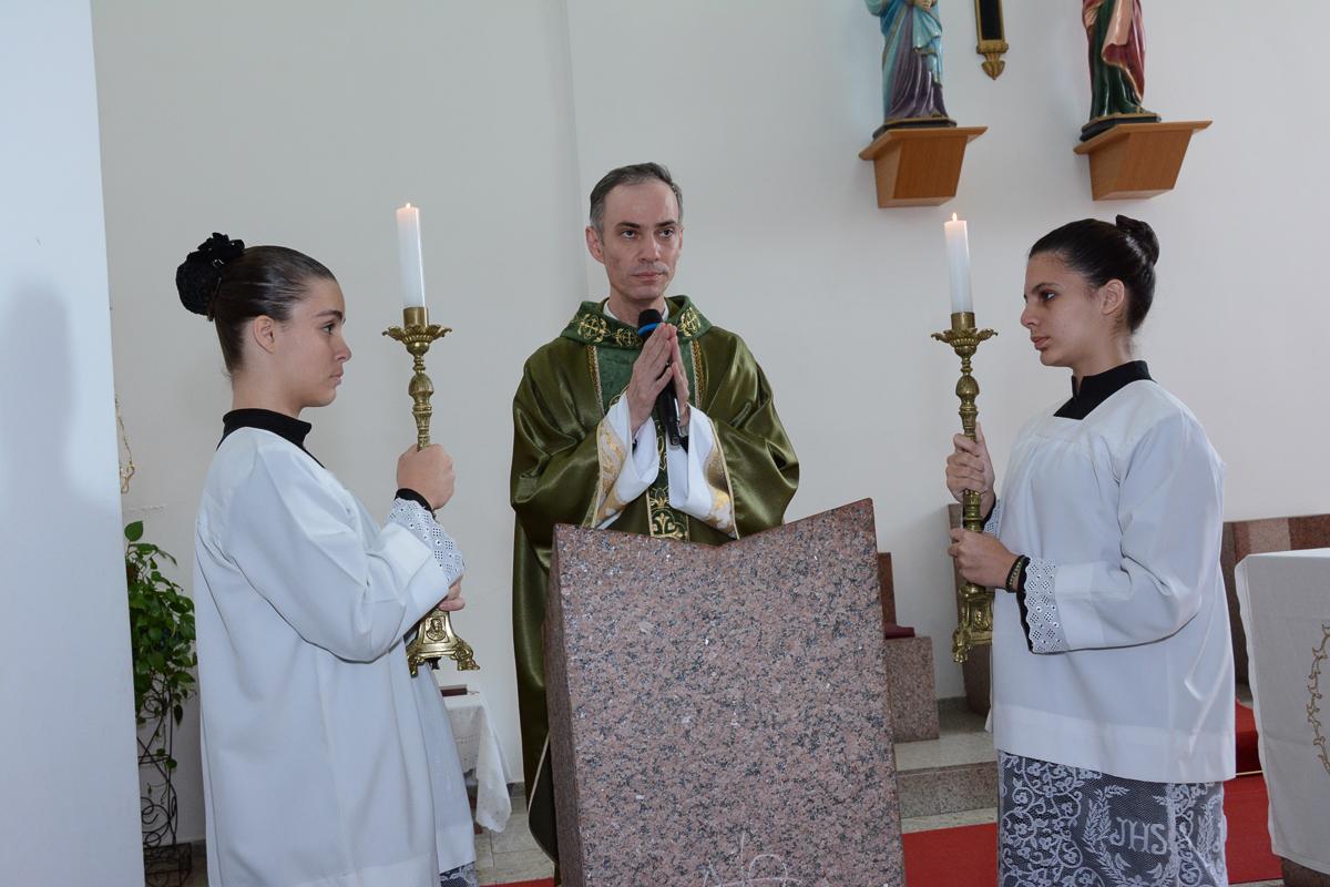 Cerimônia de de Bodas de Ouro na Igreja Santa Gema Galgani, Osasco-SP