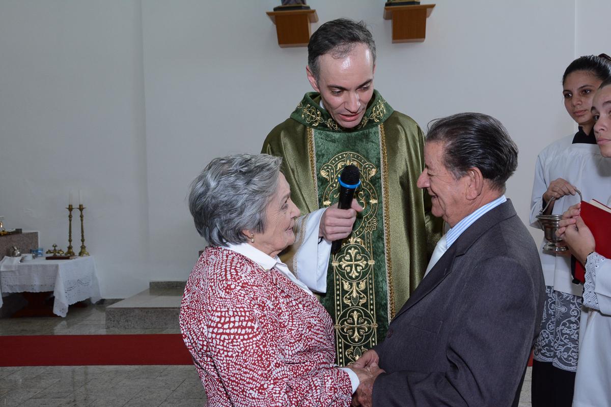 Renovando o sim na Igreja Santa Gema Galgani, Osasco-SP