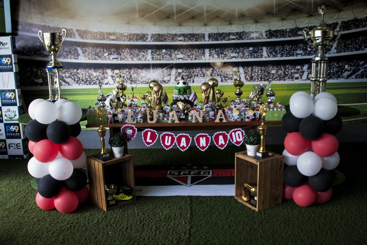 mesa temática são paulo futebol clube