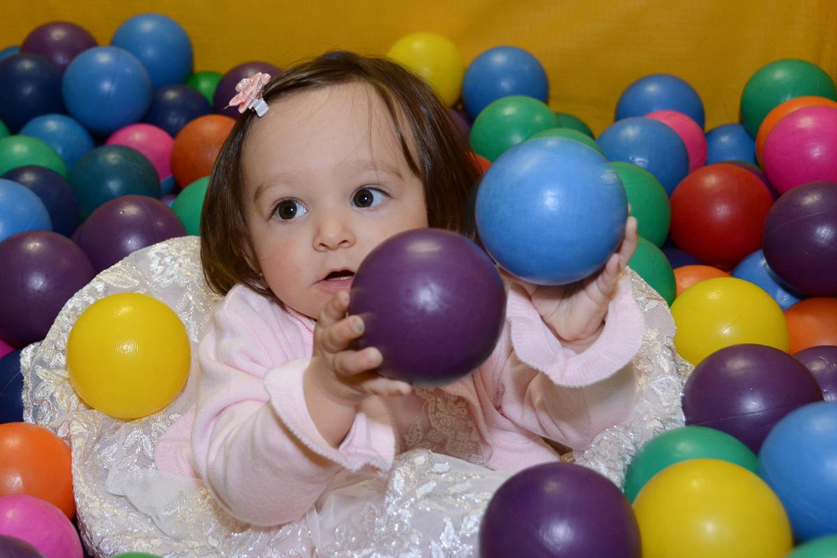 Lorena brincando  no Buffet Planeta Kids, São Paulo - SP