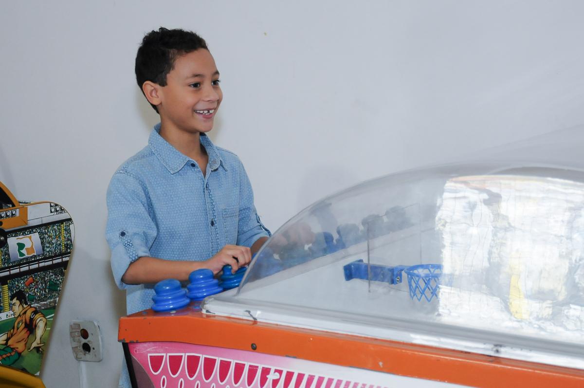 Gabriel jogando  Buffet Zureta-Osasco -SP