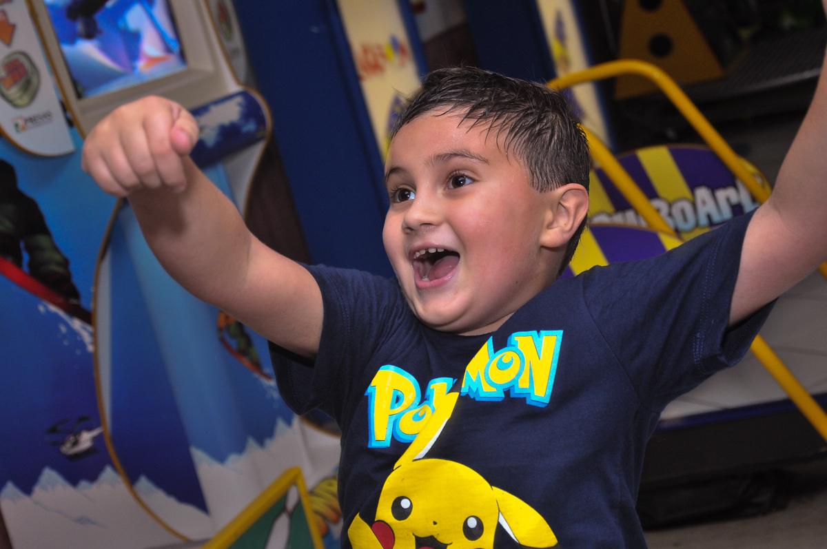 grito de gol do aniversariante no Buffet infantil Salakaboom