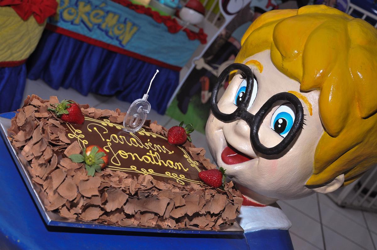 bolo de aniversário no Buffet infantil Salakaboom