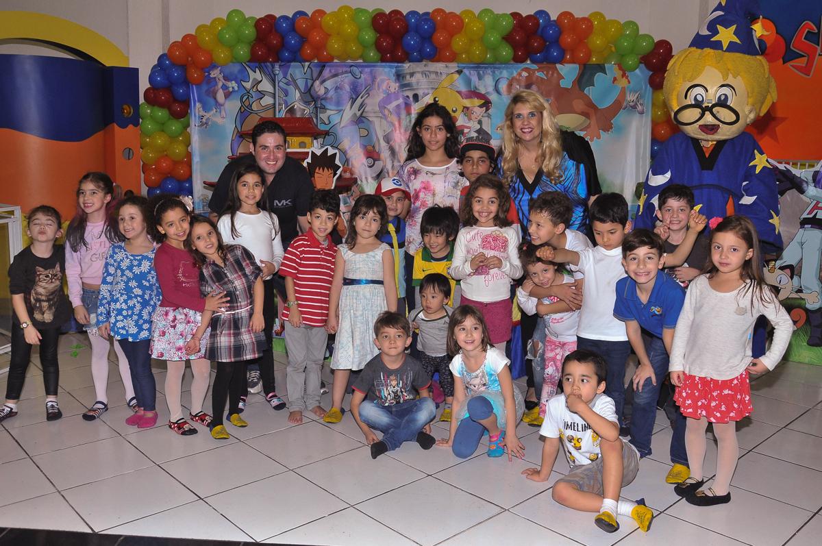 foto dos convidados no Buffet infantil Salakaboom