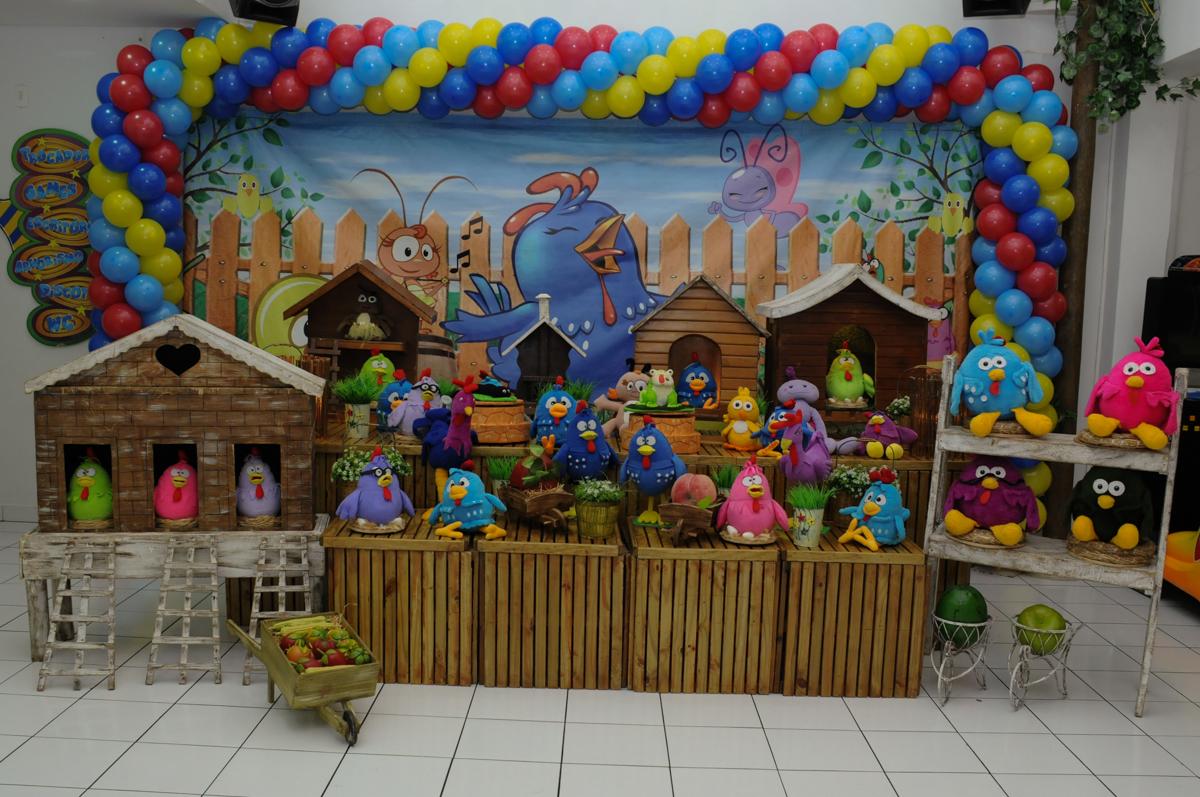 tema galinha pintadinha no Buffet Magic Joy - Moema, São Paulo