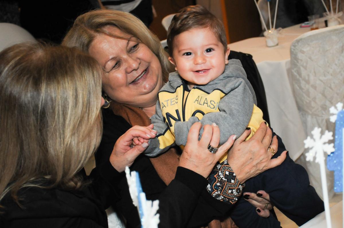 sorriso do bebê no condomínio Granja Vianna