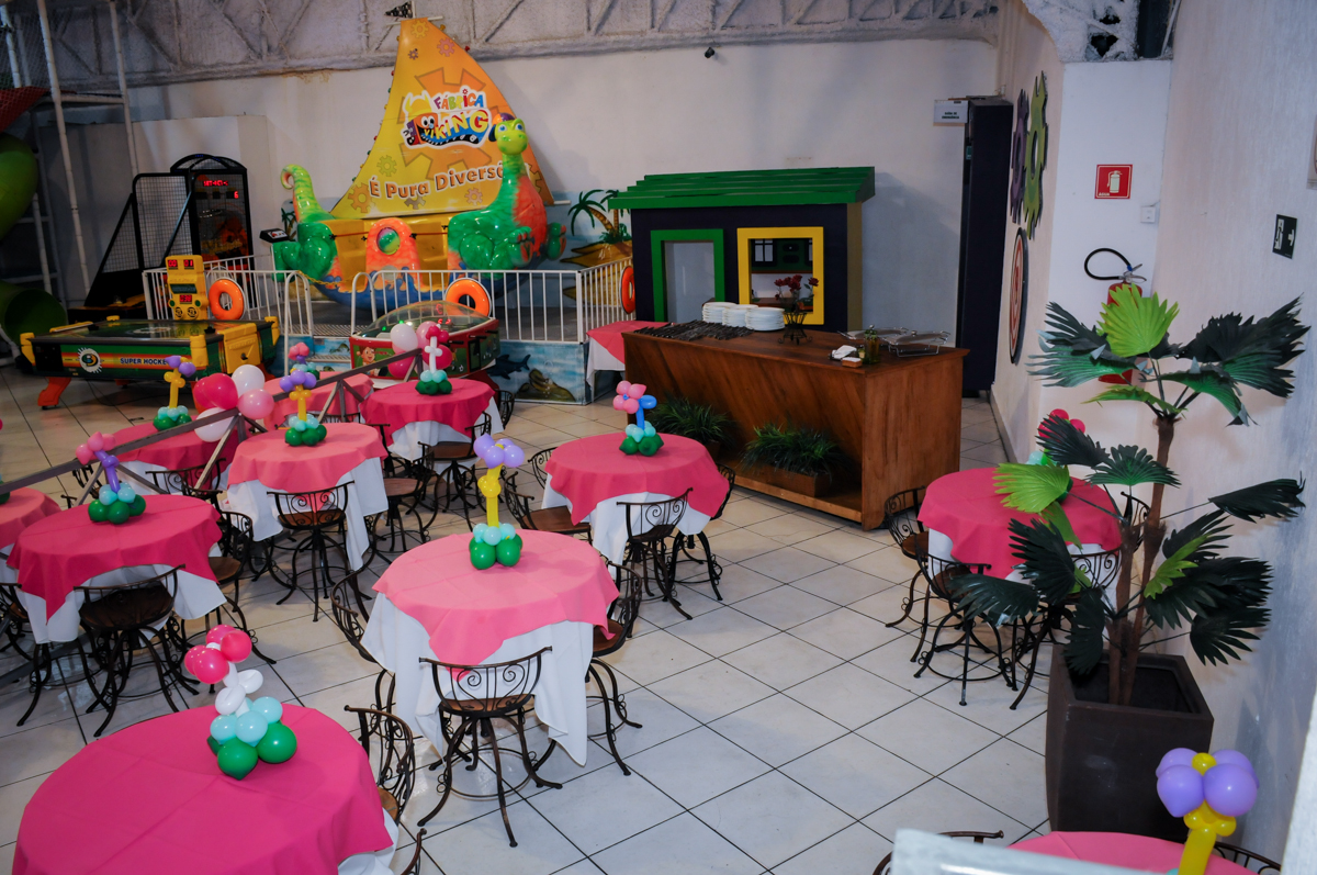 salão do Buffet Fábrica da Alegria, Unidade Osasco