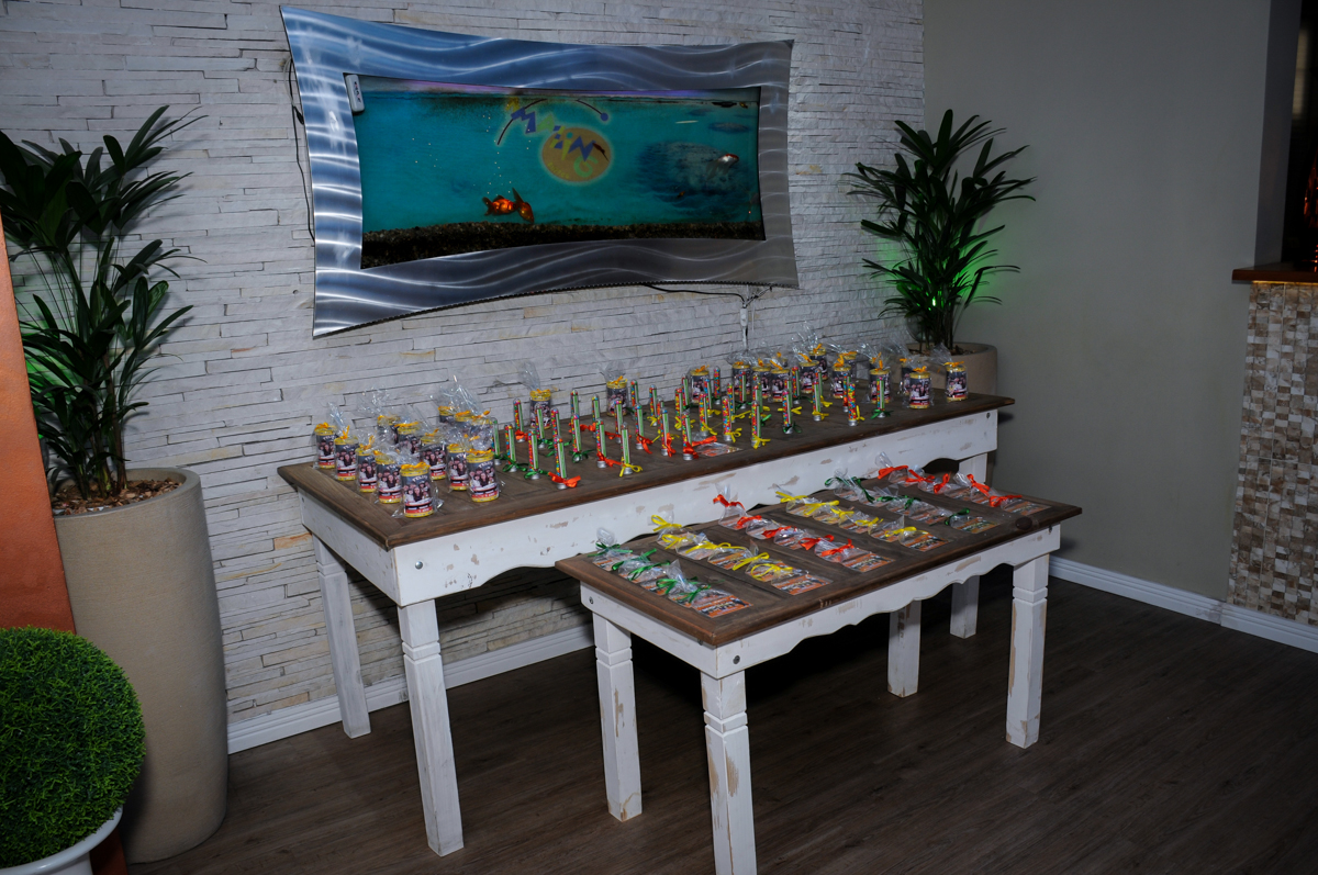 mesa de doces no Buffet Infantil Amazing, Alphaville, São Paulo