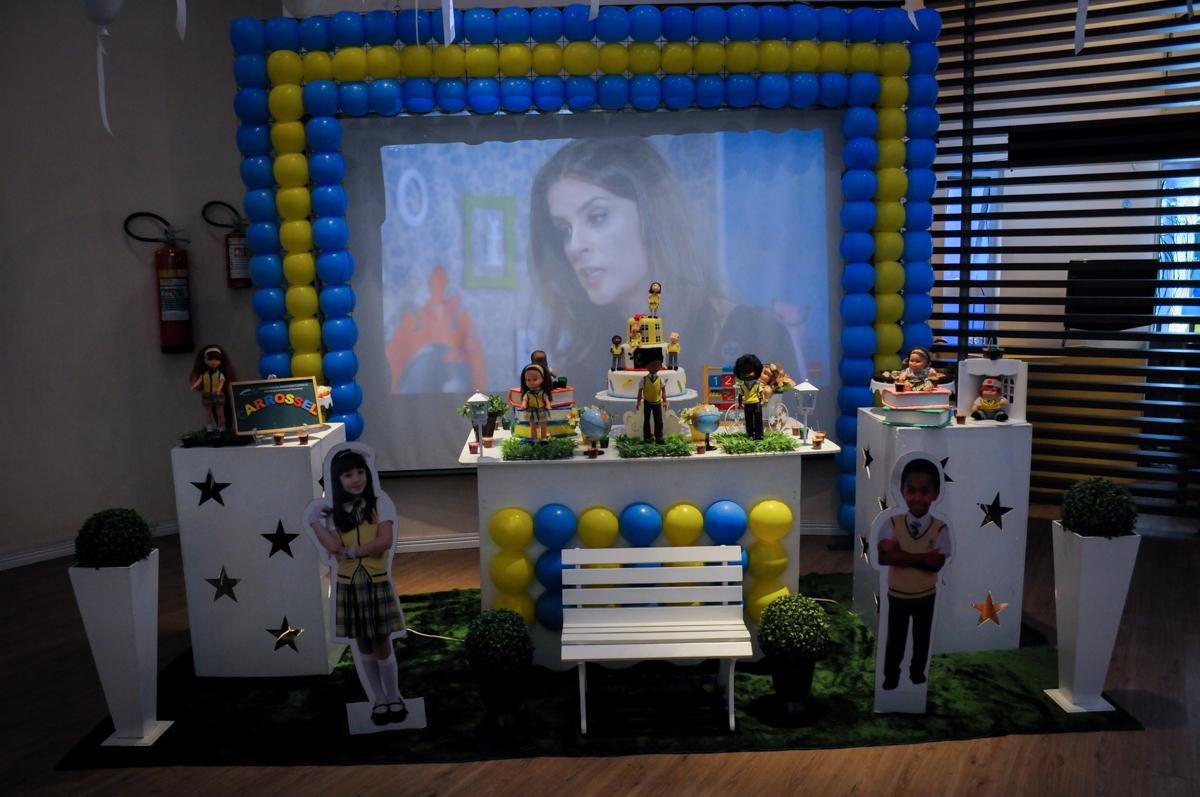 mesa decorada carrossel no Buffet Infantil Amazing, Alphaville, São Paulo