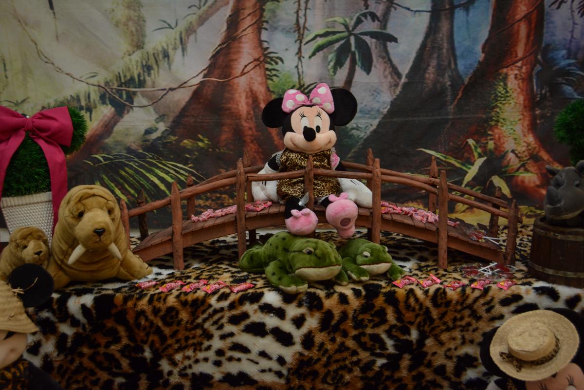 tema da mesa mickey safari Buffet Fábrica da Alegria Unidade Morumbi,São Paulo