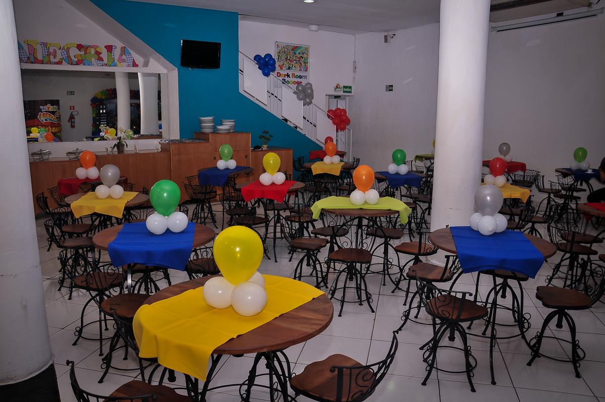 salão do Buffet Fábrica da Alegria Morumbi, São Paulo