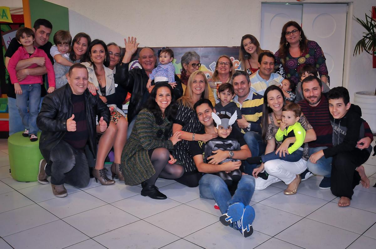 foto de toda família na festa do joaquim