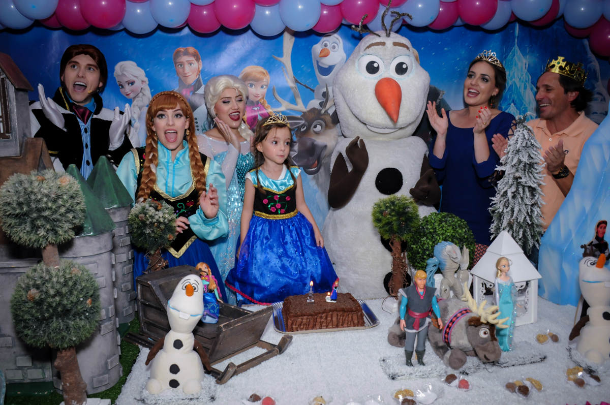 hora do parabéns no Buffet Infantil Hary Happy, Morumbi, São Paulo