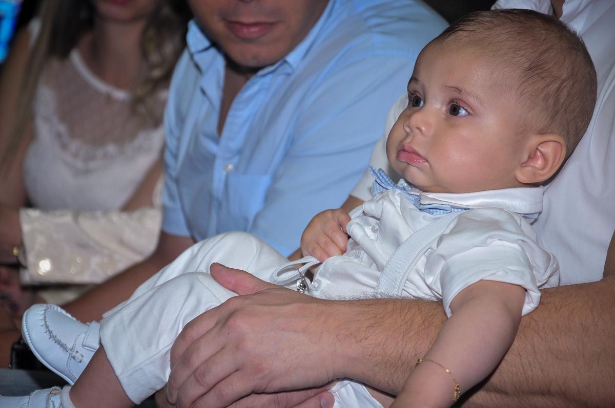 final da cerimônia de batizado do Matheus no Paróquia São Bento Morumbi