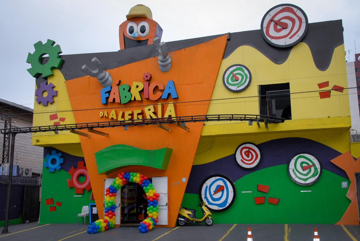 Buffet Fábrica da Alegria, Morumbi, São Paulo