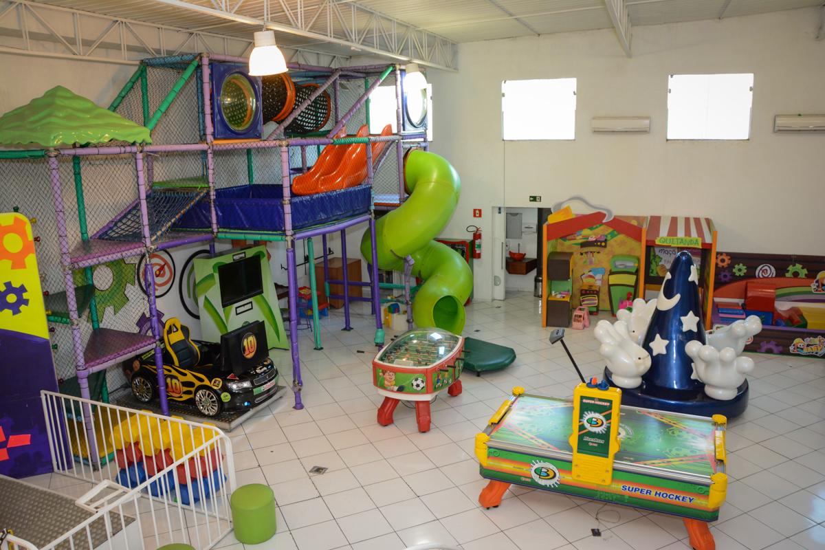 salão de festa do Buffet Fábrica da Alegria, Morumbi, SP