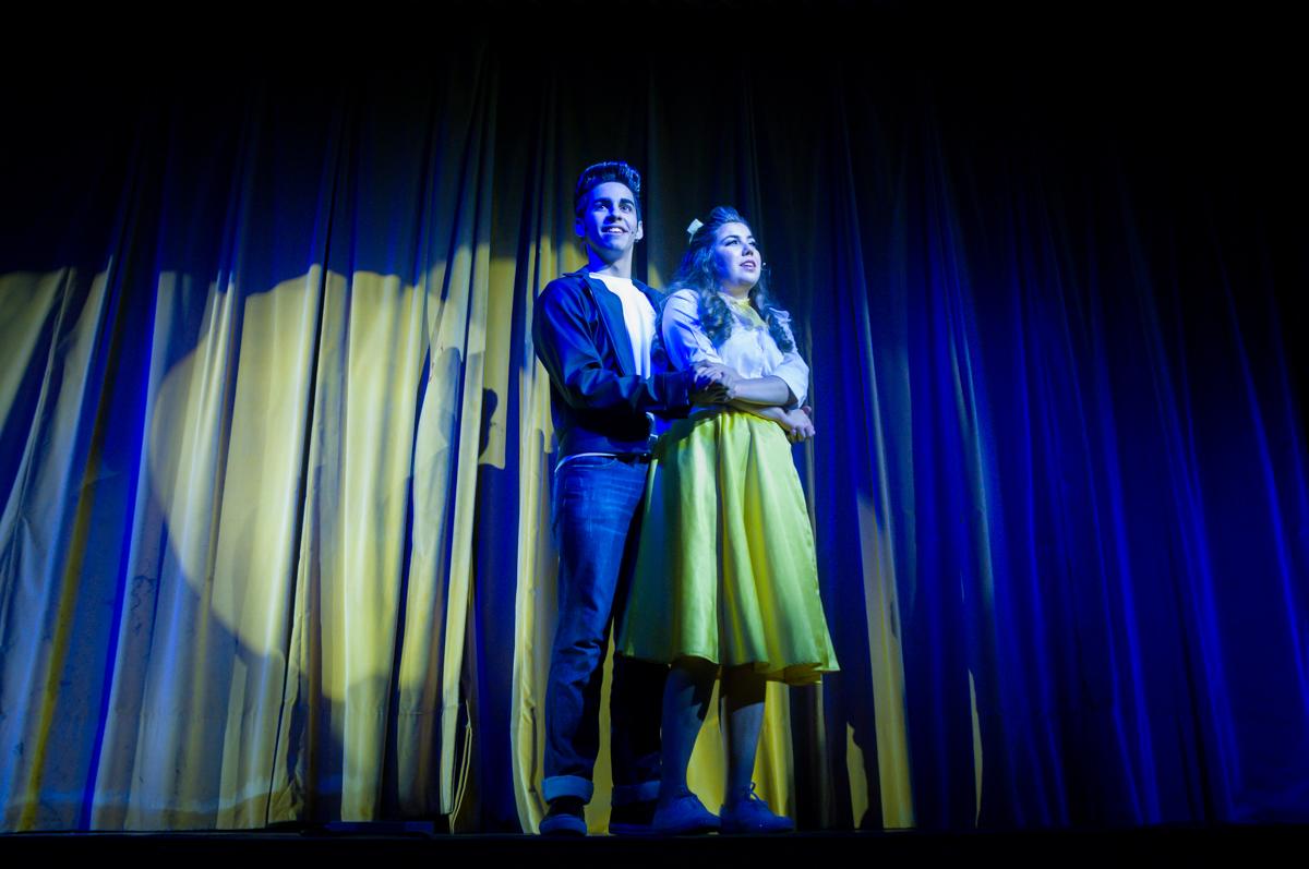 incicio do musical no Teatro, Musical no Butantã, São Paulo