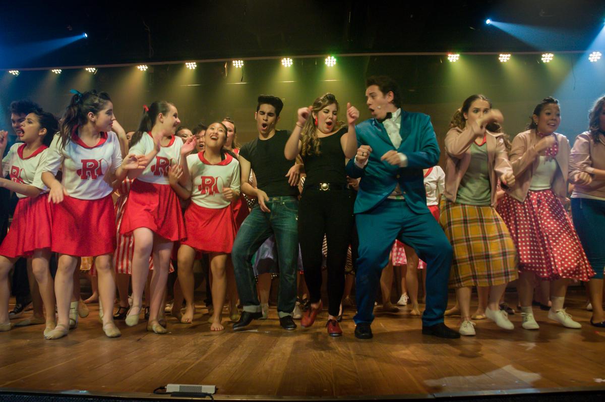Os atores se dedicaram muito no Teatro, Musical no Butantã, São Paulo