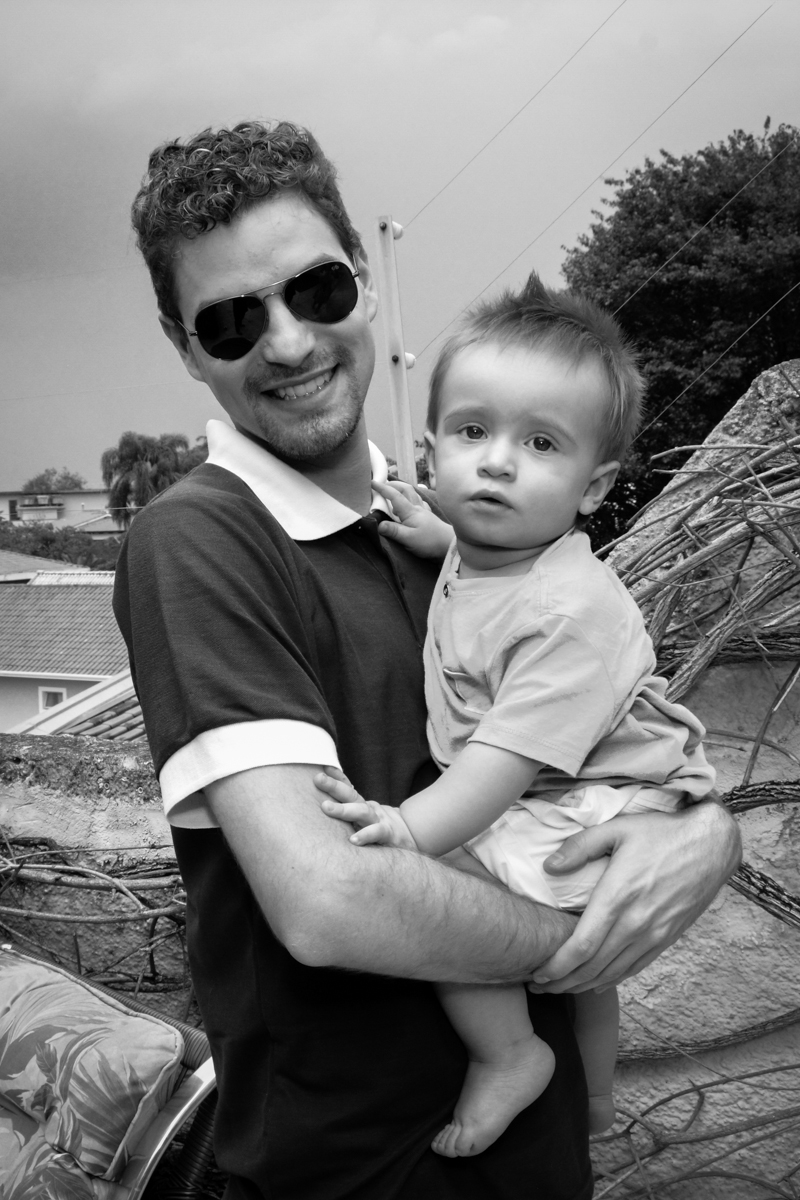 amiguinho com o convidado no Condomínio Morumbi, São Paulo festa Leonardo 1 aninho, tema Mickey
